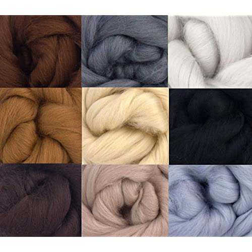 975c2db0496 Merino Wool Tops - NEUTRAL TONES - Pack of 9