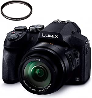 パナソニック デジタルカメラ ルミックス FZ300 光学24倍 ブラック DMC-FZ300-K + レンズプロテクター セット