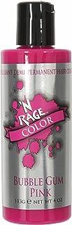 N'rage Brilliant Demi Permanente Hair Color, Bubble Gum Pink, 4 Ounce