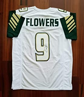 Quinton Flowers Autographed Signed Memorabilia Jersey Usf Bulls - JSA Authentic
