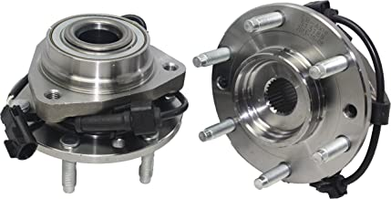 Detroit Axle 513188 Front Wheel Bearing & Hub Assembly, Driver & Passenger (2-PC..