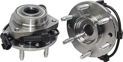 Detroit Axle - (Both) Front Wheel Bearing and Hub Assembly for Isuzu Ascender Oldsmobile Bravada GMC Envoy Buick Rainier Chevy Trailblazer W/ABS (Pair) 513188 x2