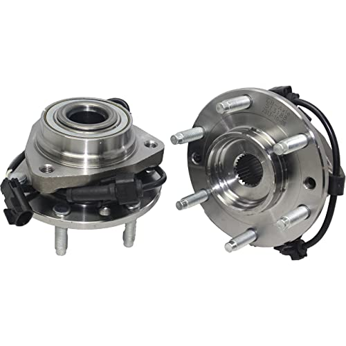 Brand New (Both) Front Wheel Bearing and Hub Assembly for Ascender, Bravada,