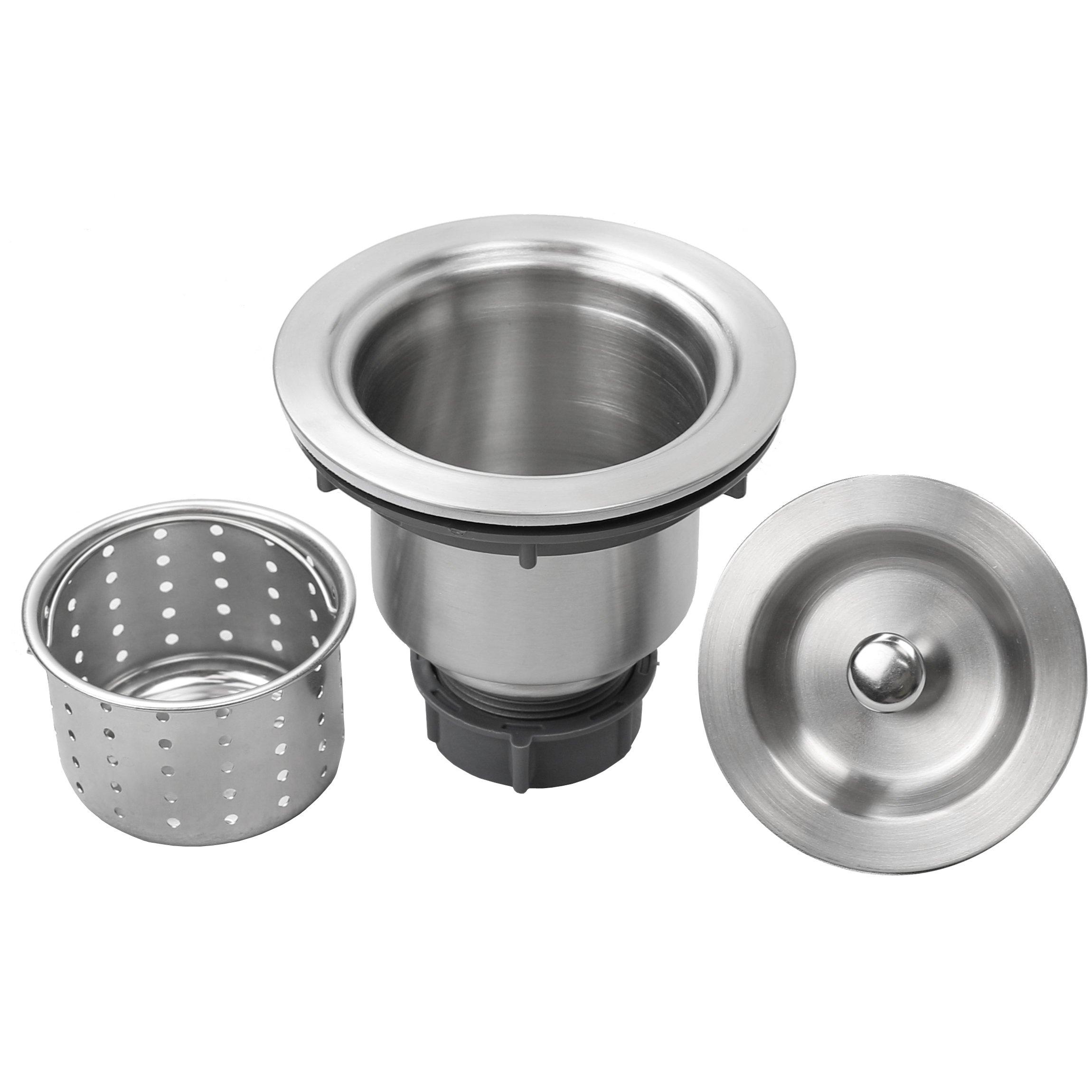 10 Bar Sink Ticor Plz 03 Undermount 18 Gauge Stainless Steel Square Kitchen Sink With Tight Radius Corners