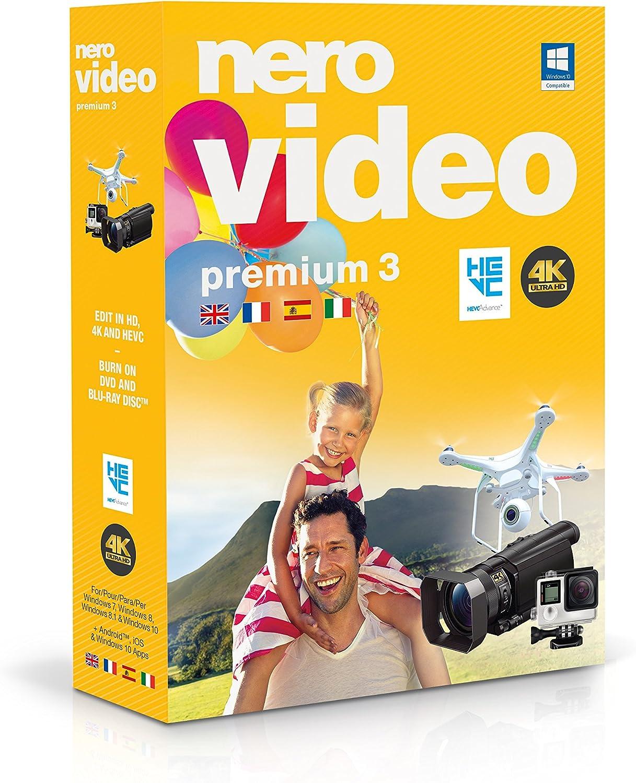 Nero Video Premium 3 - Software De Edición De Vídeo