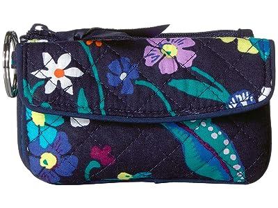 Vera Bradley Iconic Jen Zip ID (Moonlight Garden) Wallet