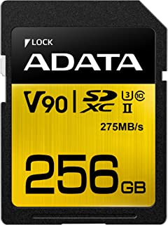 ADATA Technology Premier ONE SDXC UHS-II Class10 256GB ASDX256GUII3CL10-C