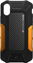 Element Case EMT-322-175EY-01 Formula Drop Tested Case for iPhone X/XS - Black/Orange