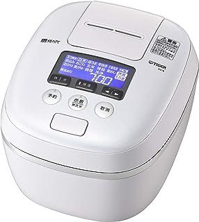 TIGER 虎牌 保温瓶 电饭煲 压力IH 土锅涂层 带极锅功能 现煮 5.5合 空气白色 JPC-G100WA