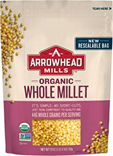 Arrowhead Mills Organic Whole Millet, 28 oz. Bag