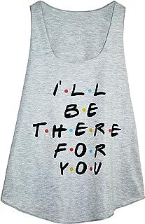 26da2861e Camiseta SIN Mangas para Mujer - Estampado DE Texto - I'Ll BE There FOR