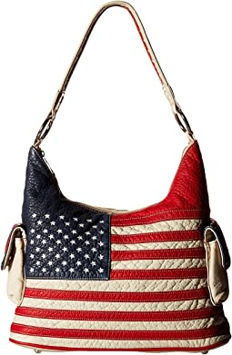 M&F Western Americana Bucket Bag