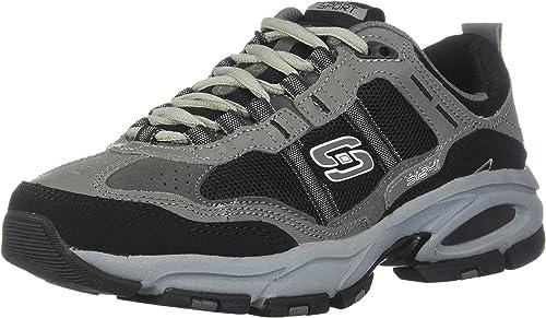 Skechers Hommes's Hommes's Vigor 2.0 Trait Cross Training chaussures,Charcoal noir,US 14 M  économiser jusqu'à 50%