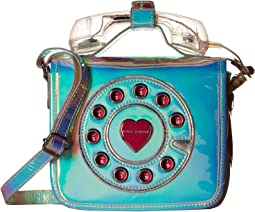 Betsey Johnson Calling All Girlfriends Mini Phone Crossbody