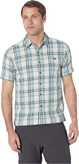 Mojave Dobby Plaid Short Sleeve Shirt