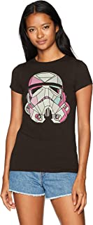 Star Wars Women's Stained Storm Trooper Crew Neck Graphic T-Shirt