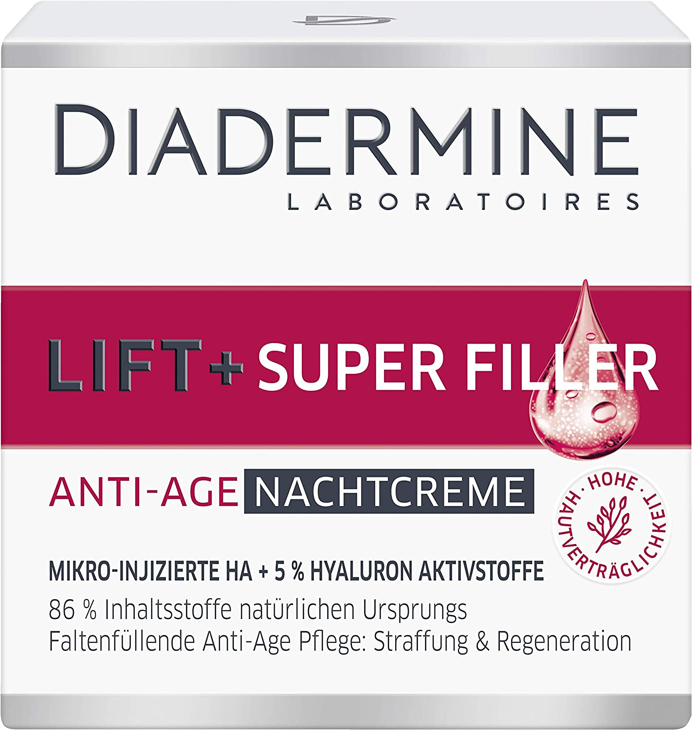 Diadermine Lift + Superfiller Hyaluron Night 1. - Fixed price for sale Cream Anti-Age OFFicial site