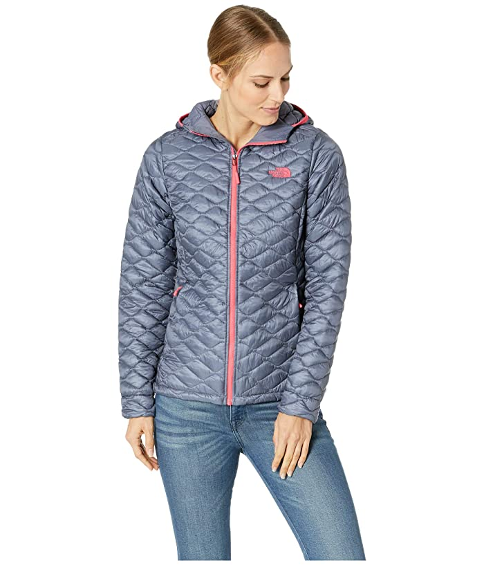 The North Face ThermoBalltm Hoodie (Grisaille Grey) Women