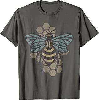Retro Beekeeper T-Shirt - Vintage Save the Bees Bumblebee