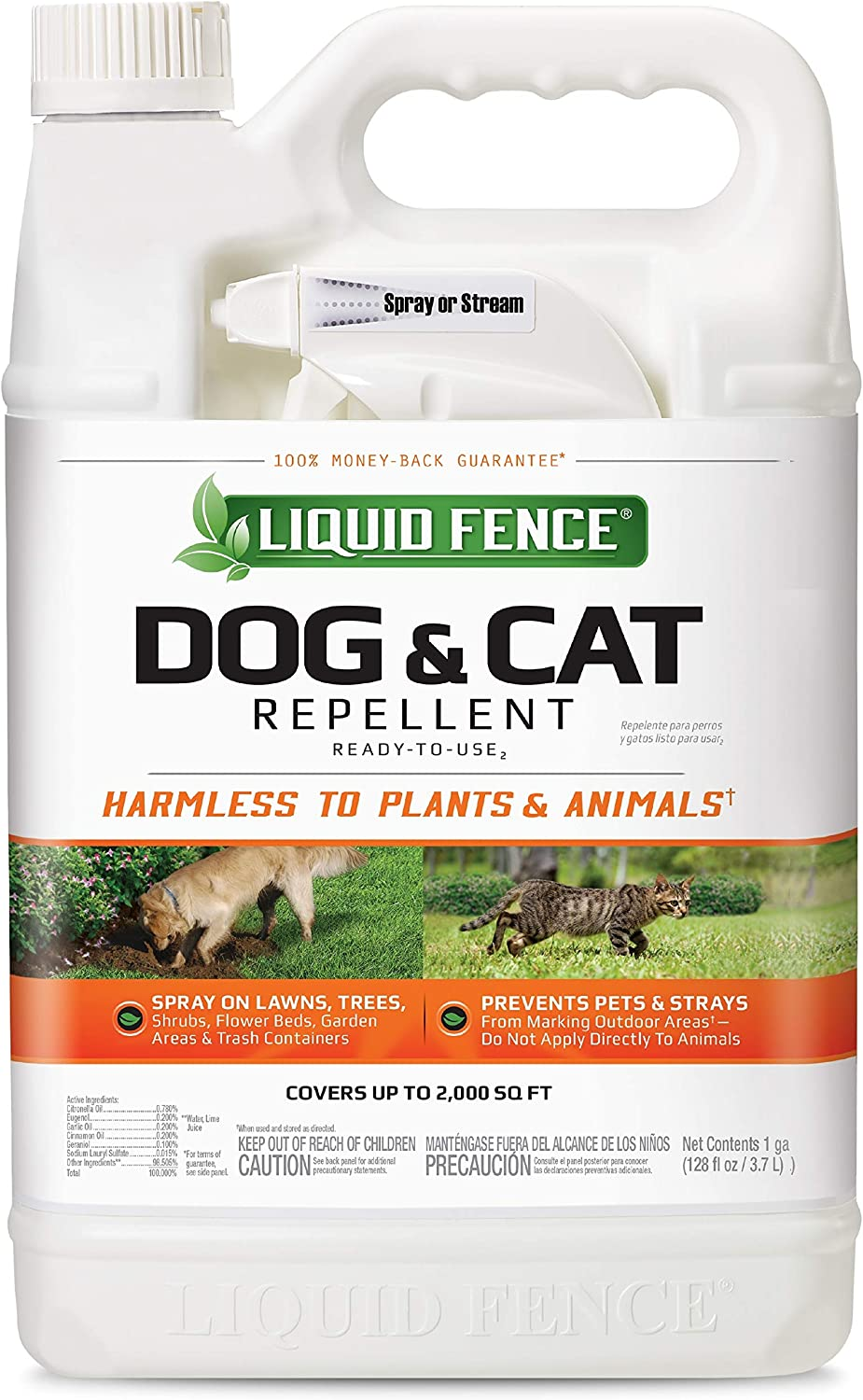 Liquid Fence Dog Cat Repellent 1-Gallon Ready-to-Use Discount is also Philadelphia Mall underway