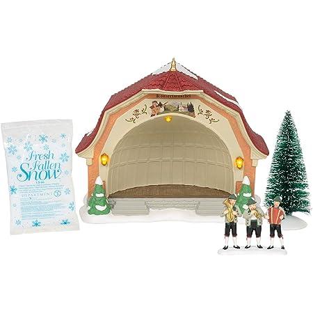 Department 56 Alpine Village Bavarian Concert Hall Musical Lit Building Set