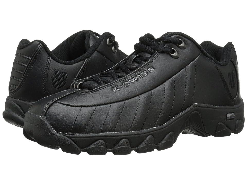 K-Swiss ST329 CMFtm (Black Leather) Men