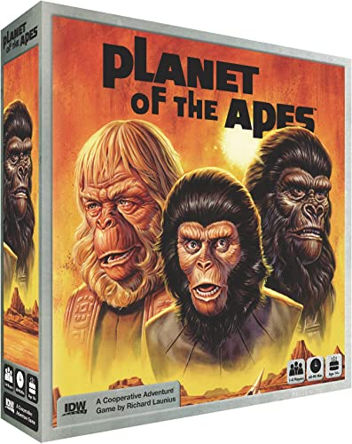 IDW Games IDW01279 Nein Planet of The Apes, Spiel