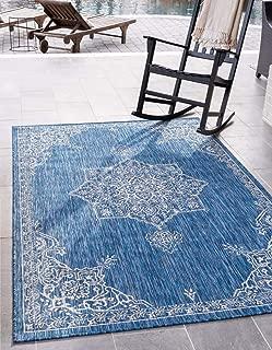 Best blue flatweave rug Reviews