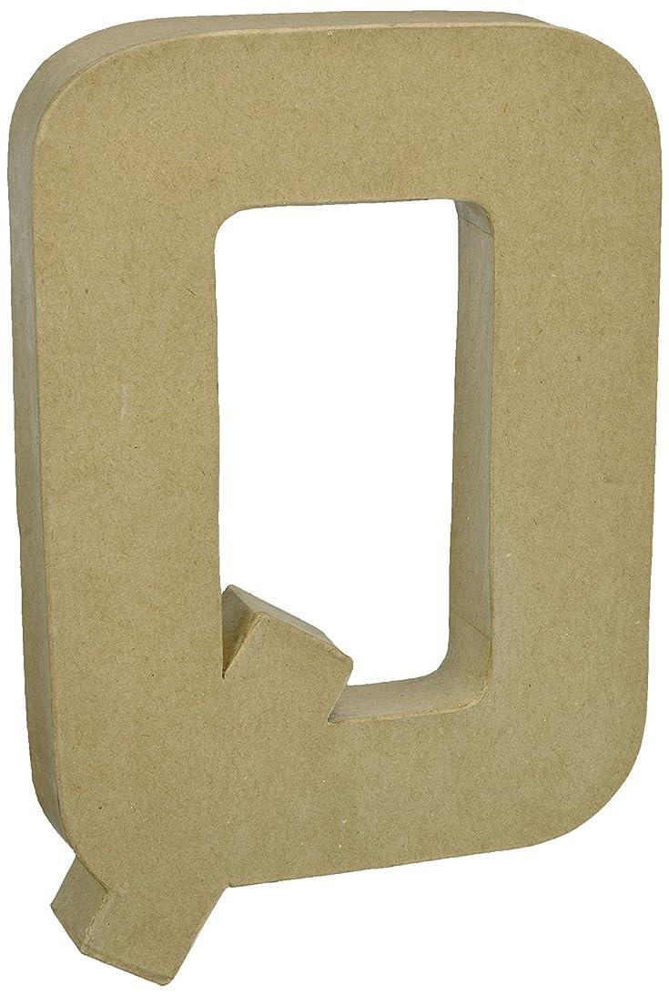 Darice 2861-Q Paper Mache Letter 12Inx1.5In