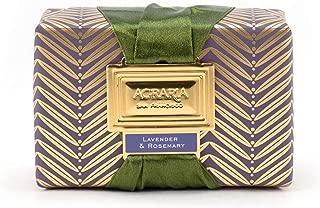AGRARIA Moisturizing Beauty Lavender & Rosemary Bath Bar Luxury Bar Soap, 8 Ounce