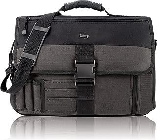 Solo Classic Collection Expandable Messenger Bag, Black (P2T-10/4)