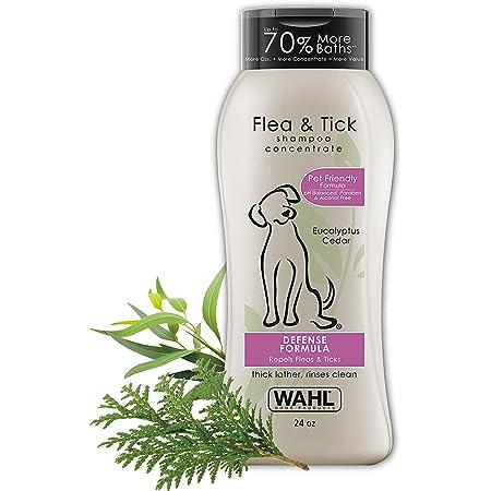 Wahl 820007 Flea and Tick Shampoo, Rosemary Mint 710ml /24oz