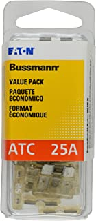 Bussmann (VP/ATC-25-RP) Clear 25 Amp 32V Fast Acting ATC Blade Fuse, (Pack of 25)