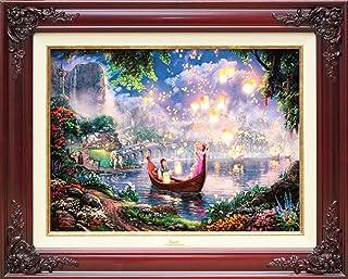 Disney ディズニー/トーマス・キンケード「塔の上のラプンツェル」 【並行輸入品】 (ワインレッド)