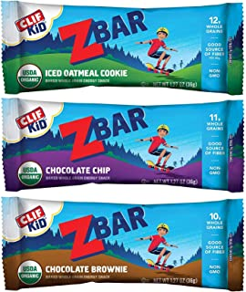 Bulk Snack Bars (Clif Kid Z Bar, Variety, 36-Pack)