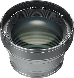 Fujifilm Fujinon Tele Conversion Lens for X100 Series Camera, Silver (TCL-X100 S II)
