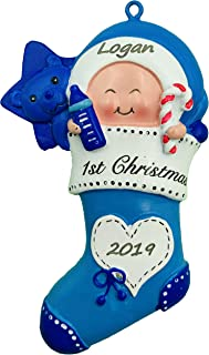 Best personalized baby's first christmas ornament 2018 Reviews
