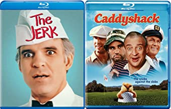 Comedy Bundle: Caddyshack & The Jerk Blu-ray Combo pack (Bill Murray/ Chevy Chase/ Steve Martin) Double Funny Feature