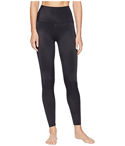 Beyond Yoga Compression High Waisted Midi Leggings (Black) Women