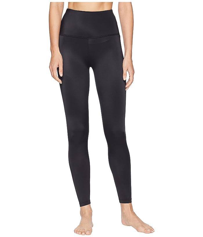 Beyond Yoga Compression High-Waisted Midi Leggings (Black) Women