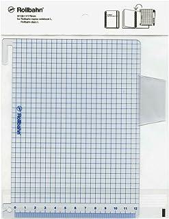 ロルバーン ポケット付メモ/ダイアリー Lサイズ用 下敷き【ブルー】 500434 425