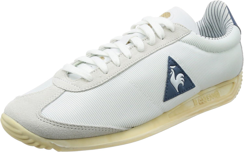 Le Coq Sportif Quartz Court Legacy Trainers, White
