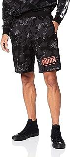 PUMA Men's CAMO Pack AOP Shorts, Iron Gate/AOP