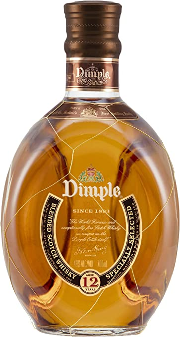 Dimple 12 Years Old Scotch Whisky 700ml