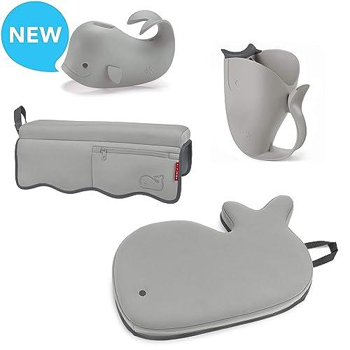 Blue Regalo Whale Soft Rubber Universal Bath Spout Cover Safety Guard with Shower Diverter