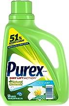 Purex Liquid Natural Elements Laundry Detergent, Linen & Lilies, 75 oz (50 loads)