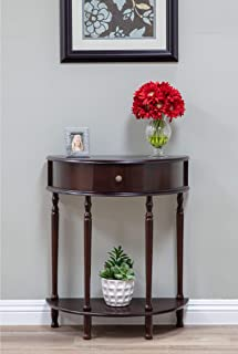 Frenchi Home Furnishing End Table/Side Table, Espresso Finish