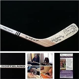 blackhawks signed hockey stick