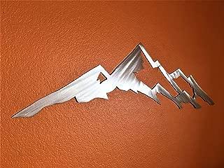 Fourteener Metal Wall Art 14er Mount Yale Rocky Mountains Colorado Rock Climbing Trail Hiking Backpacking Fans