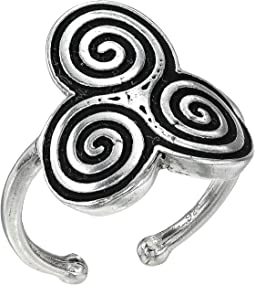Triskelion Statement Ring